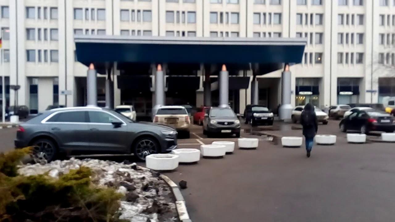 Москва 2030 улица Чавеса, отель Аэростар зима день - YouTube