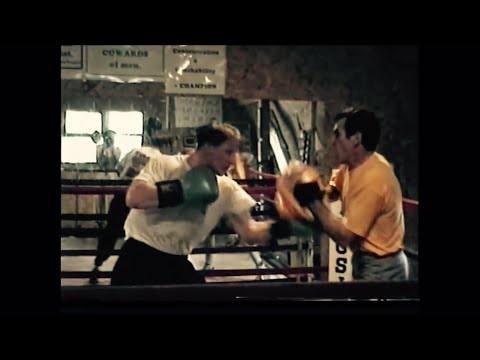 Pierre Vogel in Chicago beim Boxtraining