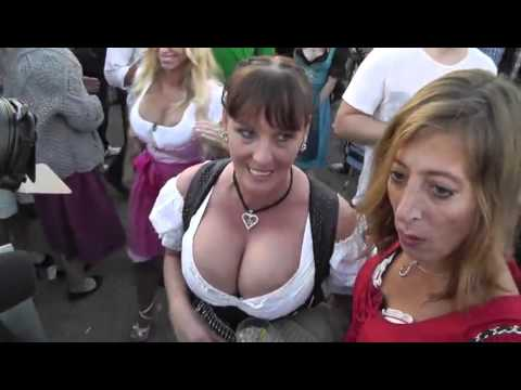 Yup sexy hot dirndl tits literally