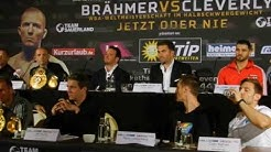 Boxen Brähmer - Cleverly 1 Oktober 2016 in Neubrandenburg