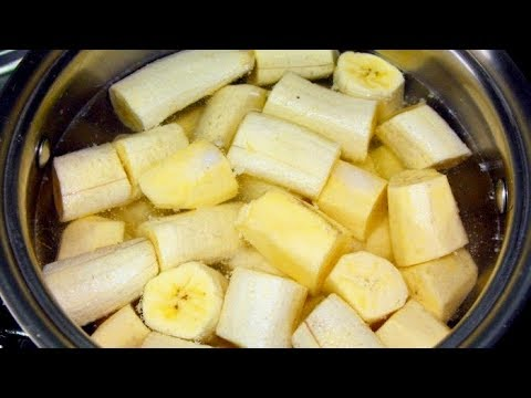 Boil Bananas And Drink The Liquid, THIS Will Happen To Your Body!