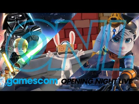 GAMESCOM 2020 - Opening Lego Ratchet Sam & Max Night Live