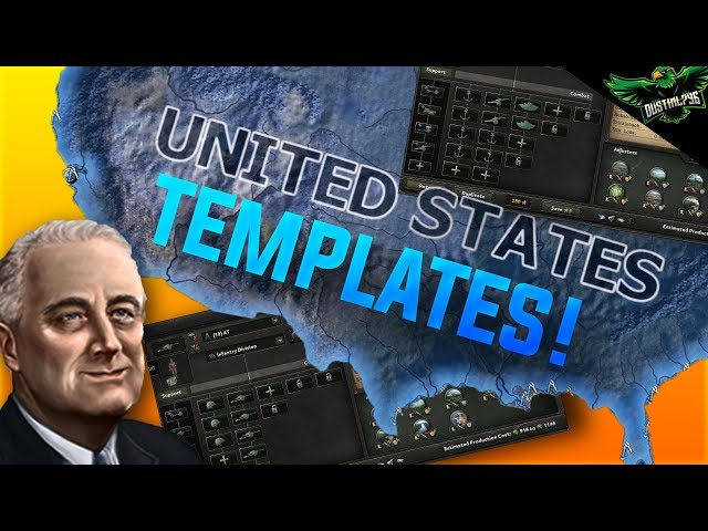 HOI4 USA Template Guide (Hearts of iron 4 American templates
