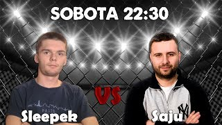 MMA YouTuberów: SAJU vs SLEEPEK - Teaser