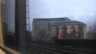 車窓動画 ロンドンブリッジ→チャリングクロス LondonBridge→CharingCross southeasterm