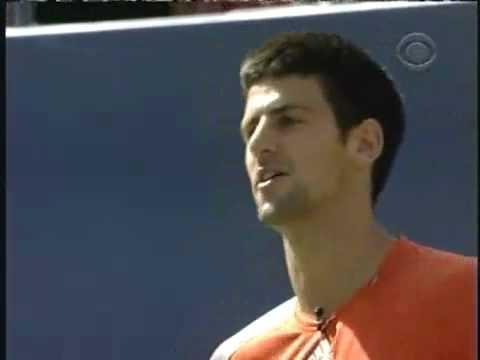 Novak Djokovic I Endi Rodik - Imitacije