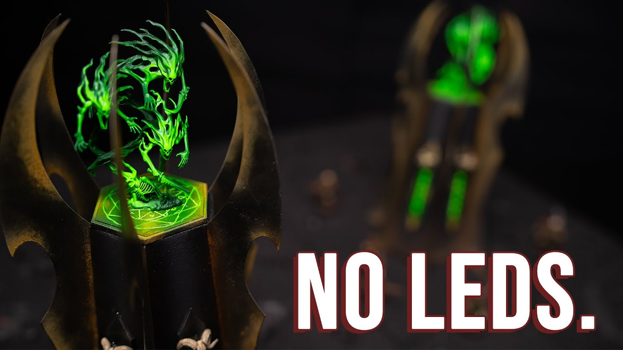Soul Columns of the Necrolords: A Modular Grimdark Terrain piece