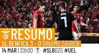 HIGHLIGHTS: SL Benfica 3-0 GNK Dinamo