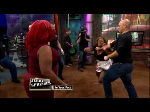 Fight Night: Ashley Comes Clean The Jerry Springer