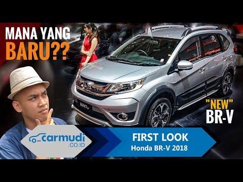 Honda BR-V 2018 (Facelift) Indonesia - FIRST LOOK