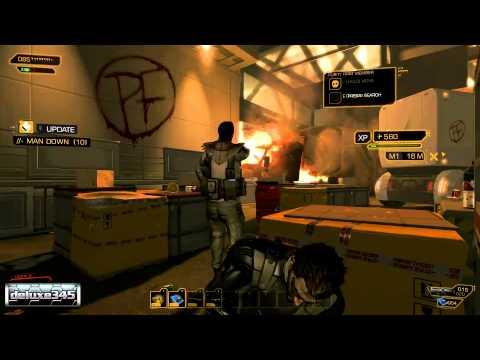 Deus Ex: Human Revolution Gameplay (PC HD)