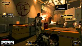Deus Ex: Human Revolution Gameplay (PC HD)