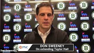 Don Sweeney On Chances Of Bruins Extending Taylor Hall