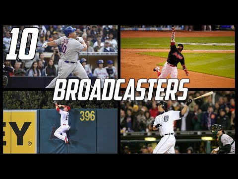 MLB | Top 10 Broadcasters