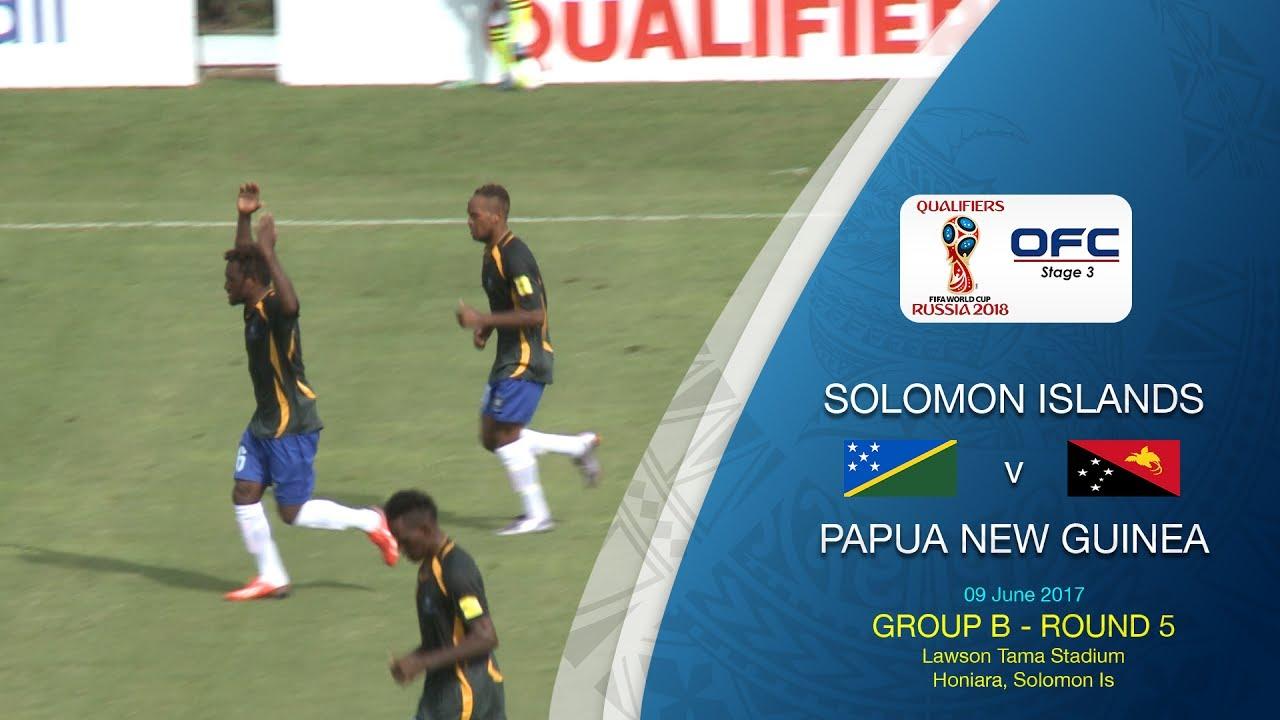 Соломоновы Острова - Папуа - Новая Гвинея 3:2 видео