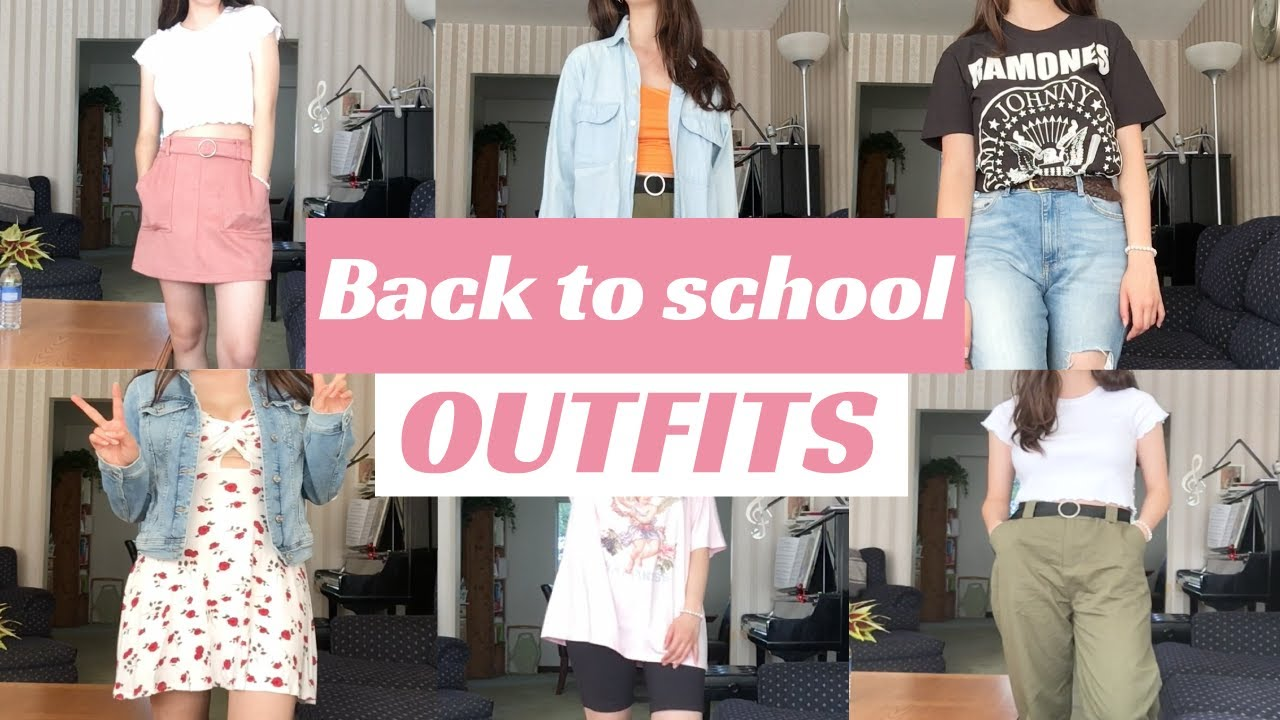 [VIDEO] – 27 back to school outfit ideas!!