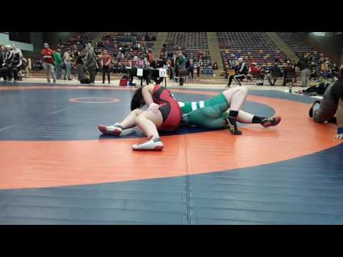 2016 Dino Invitational: 63 kg Alicia Kaegi vs. Ali McPhee