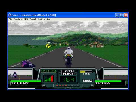 Road Rash 3 - United Kingdom Level 5