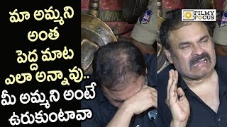 Naga Babu Emotional Words about his Mother Reaction on Sri Reddy Scolding her Filmyfocus.com