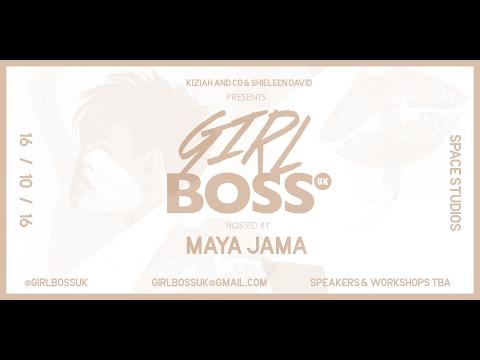 Girl Boss UK Maya Jama Intro October 2016