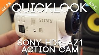 Quicklook of Sony's HDR-AZ1
