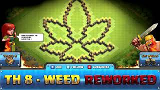 Town hall 10 best troll weed base best ever |CLASH OF CLANS | COC 😎😎