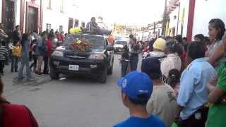 Fiestas Patronales San Gabriel Jalisco Enero 2014 reparto de décimas 11