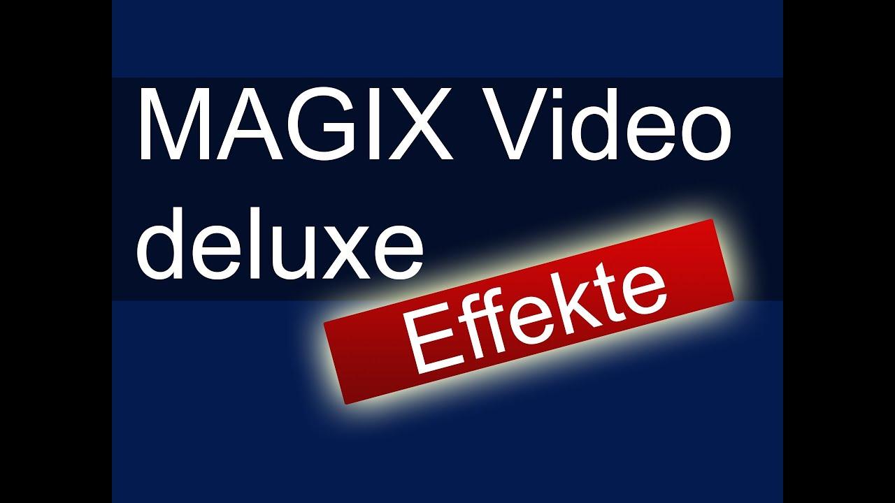 MAGIX Video Deluxe: Effekte - YouTube