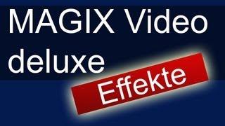 MAGIX Video Deluxe: Effekte