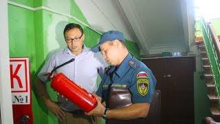 Пожарная безопасность учебных заведений - под контролем Госпожнадзора.(, 2016-08-17T10:13:12.000Z)