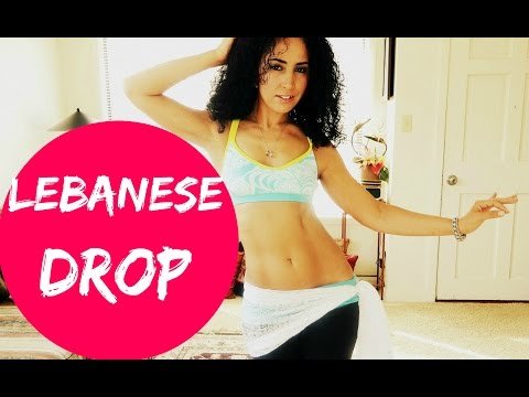 Learn to belly dance: how to do the Lebanese drop