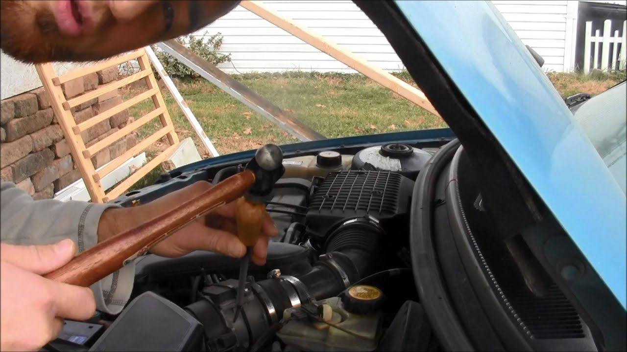 how to unclog mass air flow sensor - youtube