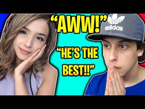 CUTEST KID MEETS POKIMANE & CIZZORZ ON FORTNITE BATTLE ROYALE!! (Fortnite Squads *WIN*)