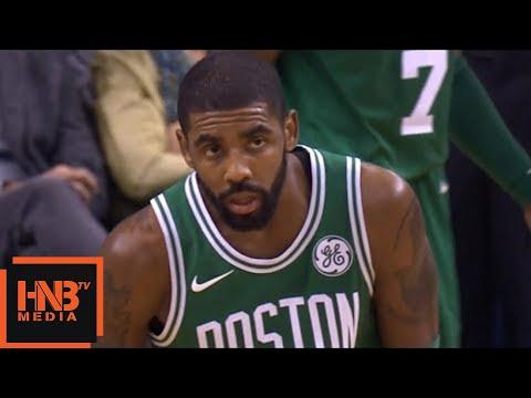 Kyrie Irving Removed The Mask / Celtics vs Warriors