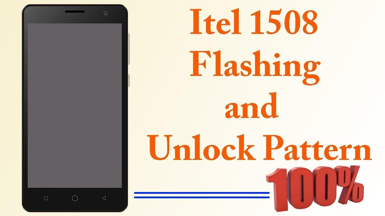 Itel 1508 Flashing - Itel 1508 Install firmware software