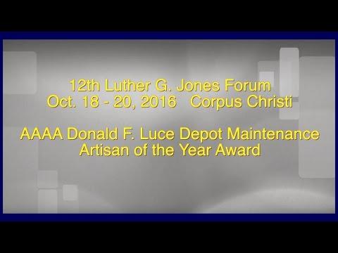 Awards Presentation Don Luce Award 2016