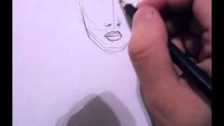 como dibujar un rostro sexi de mujer