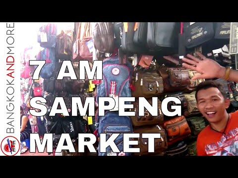 7AM @ SAMPENG LANE MARKET BANGKOK