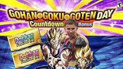 GGG Day Countdown Breakdown Bonus Login and Missions News! (Global) | Dragon Ball Z Dokkan Battle