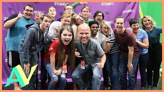 Studio C VIP Access! / Aud Vlogs