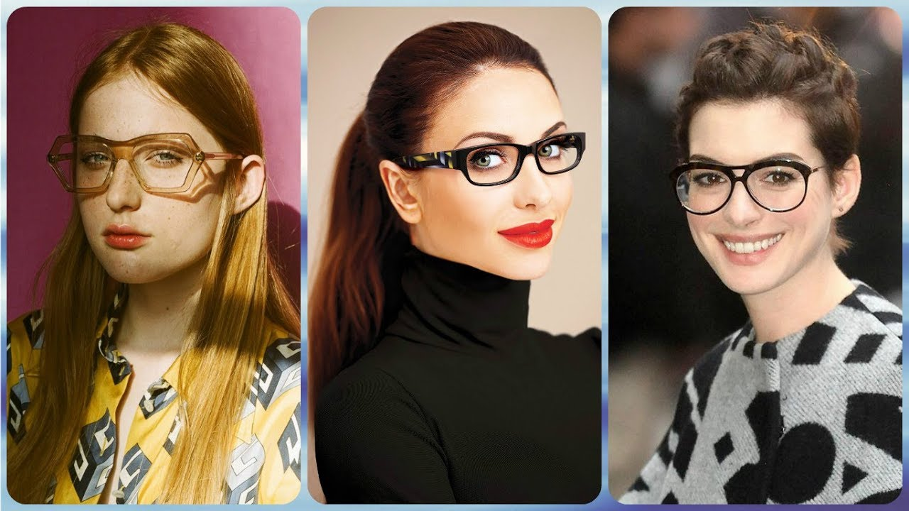 Top 20 Best ⭐ Hairstyles For Women With Glasses 2019