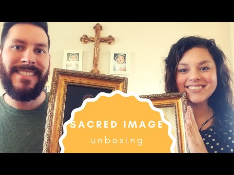 Divine Mercy and Our Lady of Guadalupe Image Unboxing!