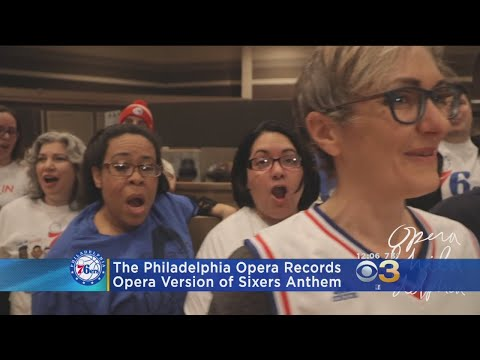 Philadelphia Opera Singers Perform The 76ers Theme Song