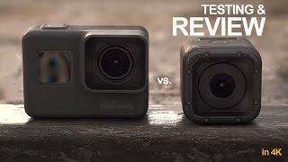 GoPro Hero 5 Black & Hero 5 Session Video Review - in 4k