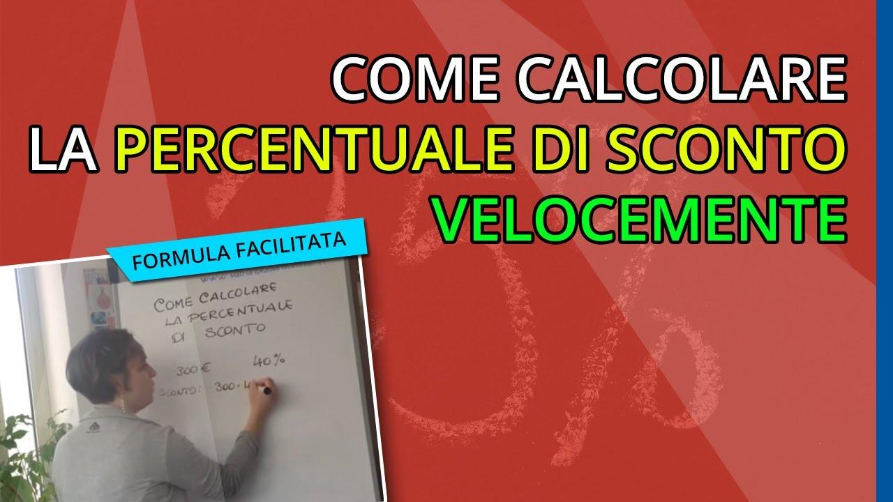 Download Come calcolare la percentuale di Sconto Velocemente - Maria Grazia Pastore