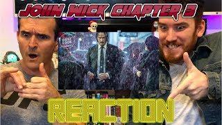 JOHN WICK 3: PARABELLUM   Keanu Reeves   Trailer Reaction!!!!