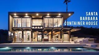 Santa Barbara en Californie Conteneur Résidence Construite avec 5 Conteneurs d'Expédition | AB Studio de Design
