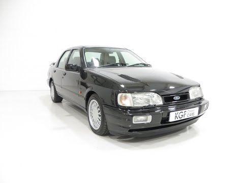 A Stunning Ford Sierra Sapphire RS Cosworth 4X4, Meticulously Maintained - SOLD!