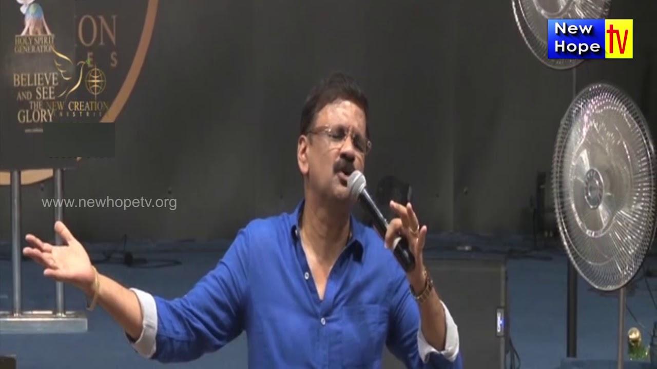 Whatever We Have, It Belongs To God (English,Kannada) Message By Evg   Rambabu | New Hope TV
