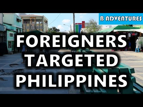 Travel Tips: Foreigners Targeted, Philippines S4, Vlog 55